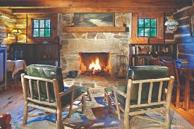oak log cabins: favorite spaces cozy cabins log cabin living room stone fireplace home decorating catalogs unique