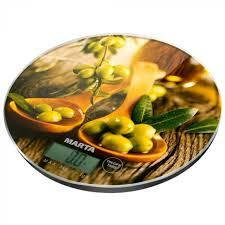 <b>Кухонные весы Marta MT-1635</b> олива Артикул 723662 купить ...