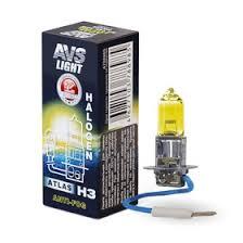 <b>Лампа</b> автомобильная <b>AVS ATLAS ANTI</b>-<b>FOG</b> BOX, желтый, H3,12 ...