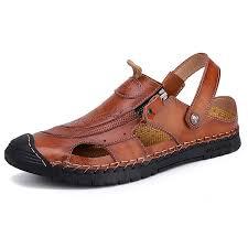 AILADUN Men's Sandals Casual Breathable Outdoor Beach ...