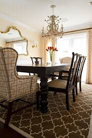 room simple dining sets: dining roomsimple dining room with black furniture set under black drum shade chandelier formal
