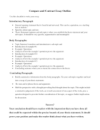 help writing comparison essay compare and contrast essay example for college
