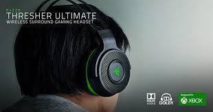 <b>Wireless</b> Gaming Headset - <b>Razer Thresher</b> Ultimate Xbox Headset