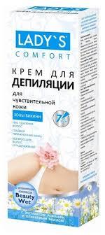 <b>LADY</b>`<b>S Крем</b> Comfort <b>для депиляции</b> зоны бикини с экстрактом ...