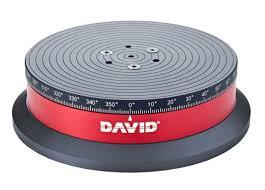 Моторизованный <b>поворотный стол</b> DAVID <b>TT 1</b> | 3D-FORMAT
