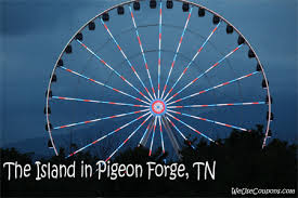 Image result for Island in pigeon forge tn