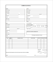 4+ Commercial Invoice Templates - Free Word, Excel, PDF Dowuments ... Free Download Commercial Business Invoice Template