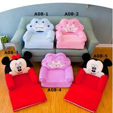 <b>Foldable Baby</b> Kids <b>Cartoon</b> Crown Sofa Seat Children Princess ...