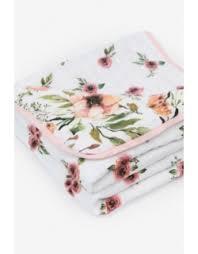 <b>Одеяло</b> для новорожденных из муслина <b>Adam Stork</b>, Watercolor ...