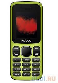 <b>Мобильный телефон Nobby 100</b> лимонадный Yellow — купить по ...