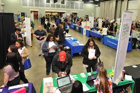 cccc hosts annual career fair 03 20 2017 news archives cccc click to enlarge approximately 100 exhibitors were present for the central carolina community college annual