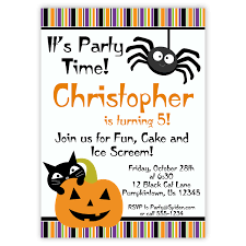 halloween birthday party invitations hd halloween birthday cards