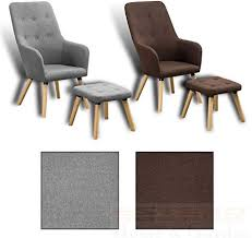 Estexo Home and Garden <b>TV Armchair</b> + Stool Lounge Recliner ...