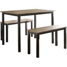 three piece dining set: rossiter  piece dining set rossiterpiecediningset rossiter  piece dining set