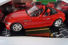 bburago burago modellauto 118 bmw m roadster 1996 cod 3349 in ovp bburago 118 1996 bmw z3