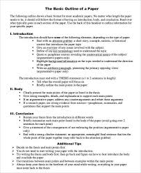 essay outline sample example format blank essay outline template  Profile Essay  Outline Worksheet