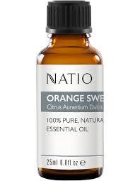 Natio <b>Pure Essential Oil</b> - Orange <b>Sweet</b> 25ml | MYER