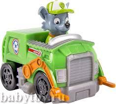 "<b>Paw Patrol Маленькая машинка</b> спасателя ""Rocky"" - BabyToy"