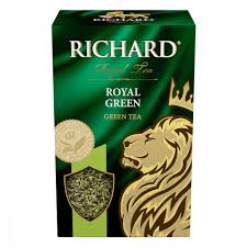 """<b>Чай Richard</b> """"<b>Royal Green</b>"""", <b>зеленый</b> листовой, 90 гр купить по ..."""