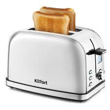 <b>Тостер</b> серебристый <b>Kitfort KT</b>-<b>2036</b>-6, купить по цене 2 890 руб ...