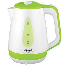 <b>Чайник</b> электрический пластиковый, 1.7 л, <b>Atlanta ATH</b>-<b>2376</b> (<b>green</b>)