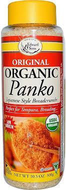 Edward & Sons, Original <b>Organic Panko</b>, <b>Japanese</b> Style ...