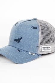 <b>Бейсболка DJINNS Hft Jersey</b> Bird (Blue, O/S) | www.gt-a.ru