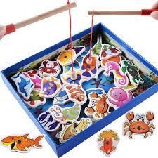 <b>Baby</b> Wooden <b>Magnetic Toy</b> Fish - CbayExpress.com