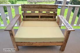 lawn furniture out of pallets build pallet furniture plans