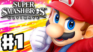<b>Super Smash</b> Bros Ultimate - Gameplay Walkthrough Part 1 - <b>Mario</b> ...