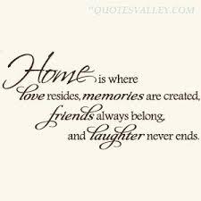 Home Quotes. QuotesGram via Relatably.com