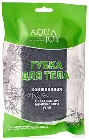 Купить <b>Губка AQUA JOY</b> Конжаковая с экстрактом бамбукового ...