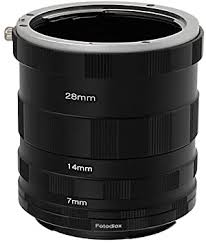 Fotodiox Macro <b>Extension Tube</b> Set Compatible with <b>Canon EOS</b> EF ...