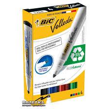 Набор <b>маркеров</b> для досок сухостираемых 4 шт <b>BIC Velleda</b> 1.7 ...
