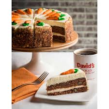 bakery desserts david s cookies carrot cake 4 25 lbs