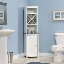 linen tower corner bathroom bathroom corner furniture
