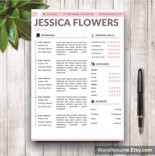 resume template cover letter and portfolio for ms word mockup template resume 28