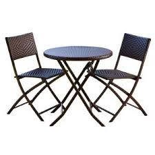 RST Brands <b>3</b>-<b>Piece</b> Patio <b>Bistro Set</b> OP-PEBS3 at The Home Depot ...