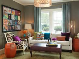 colourful living rooms