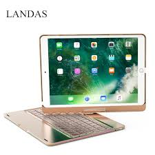 <b>Landas</b> 360 Degree Smart Keyboard For <b>IPad</b> Pro <b>10.5</b> Backlit ...