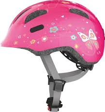 <b>Abus</b> детский велосипедный <b>шлем Smiley</b> 2.0 розовый с ...
