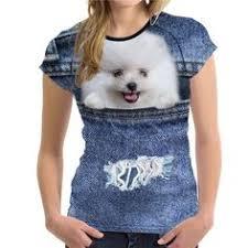 <b>FORUDESIGNS</b> Cute 3D Animal Denim Cat <b>T Shirt</b> for <b>Women</b> ...