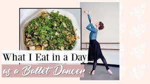 What I <b>Eat</b> in a Day as a <b>Ballet Dancer</b> | Kathryn Morgan - YouTube