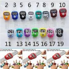 <b>free shipping</b> 15 X Mini <b>Digital</b> Electronic Muslim <b>Finger</b> Ring Tally ...