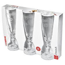 <b>Набор фужеров для шампанского</b> 3х185мл Cerve Lucy M52330