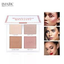 New arrival   <b>IMAGIC 4 Colors</b> Highlighter Brighten Powder Palette ...