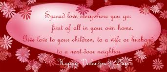 Happy Valentines Day Quotes. QuotesGram via Relatably.com