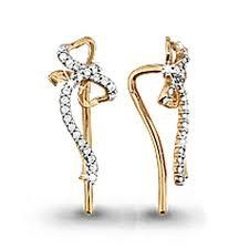 Золотые <b>серьги</b> Аквамарин с фианитом 41261А: Золото 585 ...