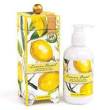 <b>Michel Design Works</b> Hand & Body Lotion 8 Oz. - <b>Lemon</b> Basil ...