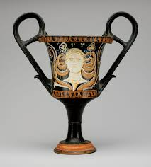funerary vases in southern and sicily essay heilbrunn terracotta kantharos drinking cup high handles